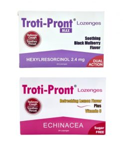 Troti-Pront Lozenges for cough and sore throat (2 Flavours)