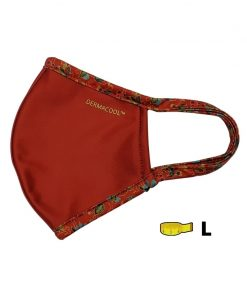 [Limited Edition] Dermacool Shield (No Nose Clip) Reusable Mask - Batik Red Contra