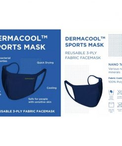 Dermacool Reusable 3-Ply Sports Mask