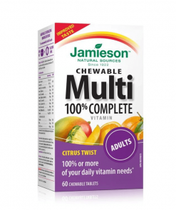 100% Complete Multivitamin for Adults Chewable Tablets 60s