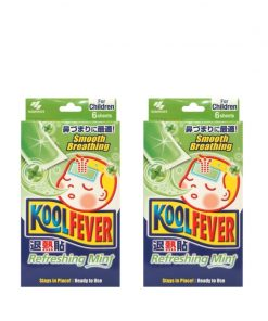 [Bundle of 2] Koolfever Refreshing Mint For Children 6pcs