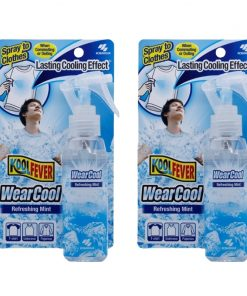 [Bundle of 2] Koolfever WearCool Spray to Clothes 100ml Refreshing Mint