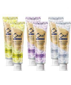 [Bundle of 2] Sunstar ORA2 Premium Stain Clear Toothpaste 100g