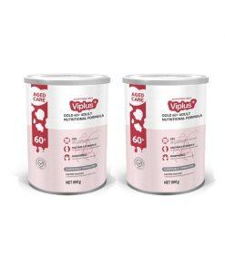 [Bundle of 2] Viplus Gold 60+ Nutritional Adult Formula Milk Powder (Exp. Jan 2023)