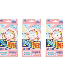 [Bundle of 3] Koolfever Baby 4pcs