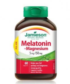 Jamieson Melatonin 5mg with Magnesium 150mg Tablets 60s