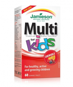 Jamieson Multivitamin for Kids Chewable Tablets 60s