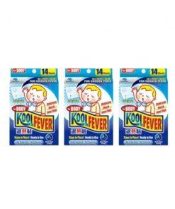 [Bundle of 3] Koolfever Children For Body 14pcs