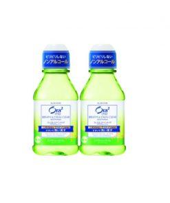 [Bundle of 2] Ora2 ME Breath Stain Clear Mouthwash Splash Lime 80ML