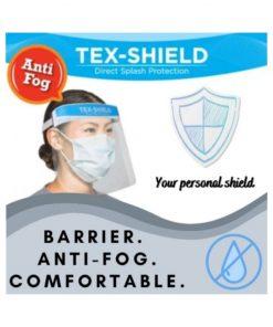 TEX-SHIELD Face Shield Anti Fog