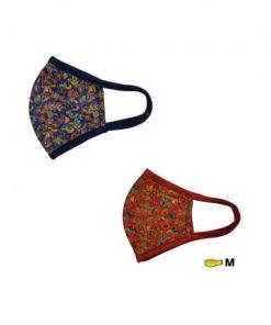 [Limited Edition] Dermacool SHIELD Reusable Mask (Without Nose Clip) – Batik or Batik Red
