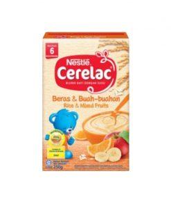 Nestlé® CERELAC® Rice & Mixed Fruits 250g