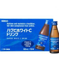 Sato Hakubi White Drink 60ml x 10 Bottles