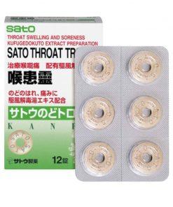 Sato Throat Troche 12S
