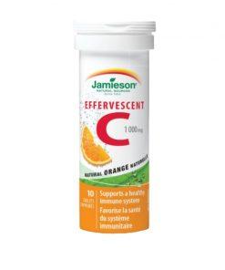 Jamieson Vitamin C 1000mg Effervescent From Canada No 1 Vitamin Supplement