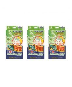 [Bundle of 3] Koolfever Refreshing Mint for Children 6pcs