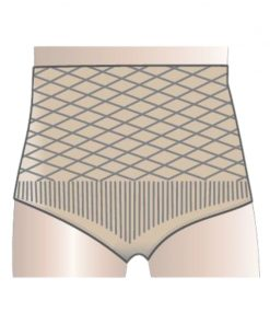 Omnigon Diamond Plus Women's Briefs (Neutral) Support Garment for Parastomal Hernia Prevention, Support and Management