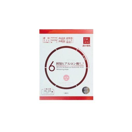 Dr Jou six essence hyaluronic acid whitening face mask