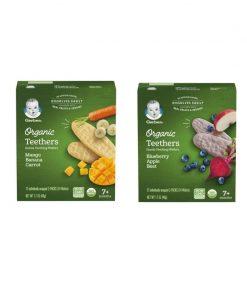 GERBER® Organic Teethers 48g