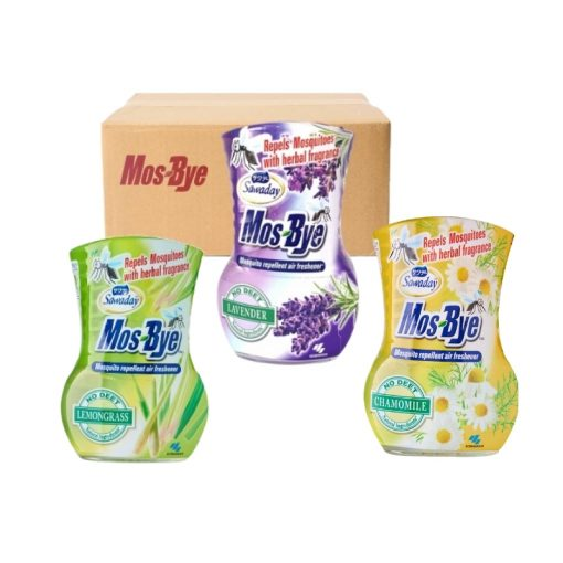 [Carton Deal] Sawaday Mos-Bye Mosquito Repellent 275ml
