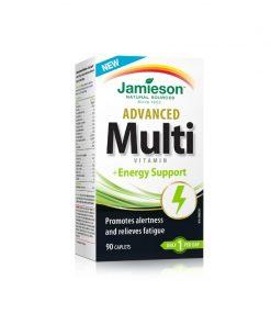 Jamieson Advanced Multivitamin & Energy Support Caplets 90s