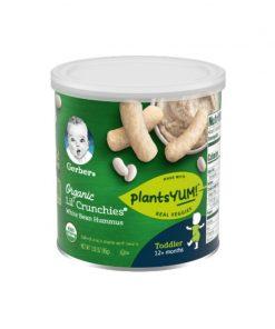 GERBER® Organic Lil' Crunchies® White Bean Hummus 45g