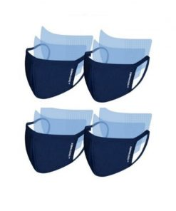 [FAMILY PACK] [Bundle of 2 Adults 2 Child] Dermacool Reusable 3-Ply Sports Masks