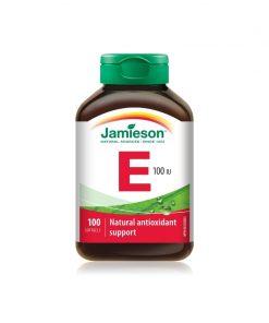 Jamieson Vitamin E 100IU/67mg AT Softgels 100s